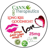 Long KISS Goodnight CBD Gummies 25mg