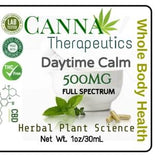 Daytime Calm CBD Oil Full Spectrum Alcohol Free 500mg