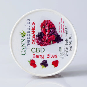 Berry Bites Organic CBD Gummies 20mg