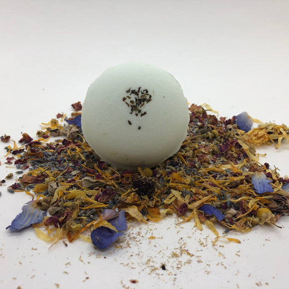Spearmint Organic Essential Oil Bath Bomb
