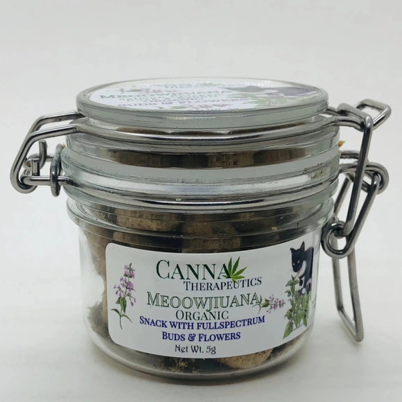Meoowjiuana Cat Treat with CBD