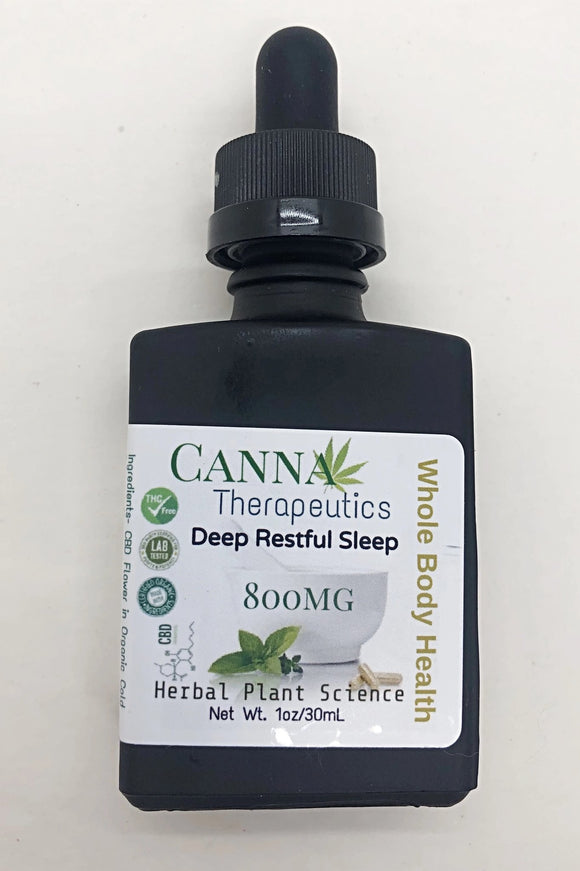 Deep Restful Sleep CBD Oil 800mg