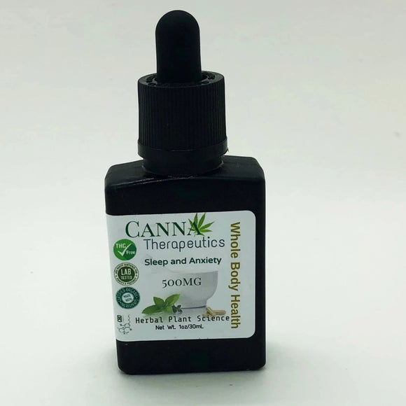 Sleep and Anxiety CBD Oil 500mg
