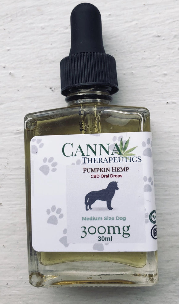 Pumpkin Oil for Dogs 300mg CBD