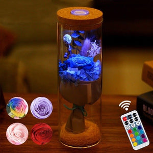 Rose LED Lamp with Remote Control