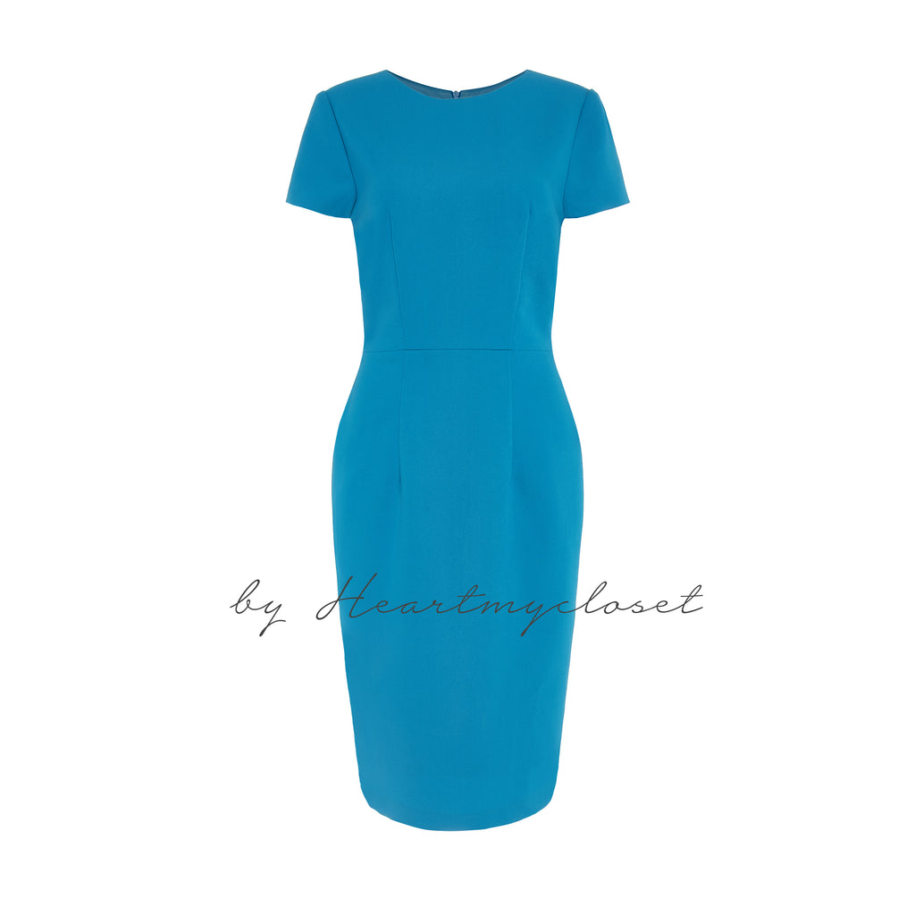 Blue dress - Meghan Markle inspired dress - heartmycloset