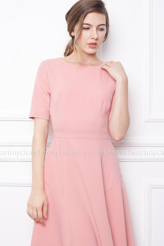 pink dress- Kate Middleton style - heartmycloset