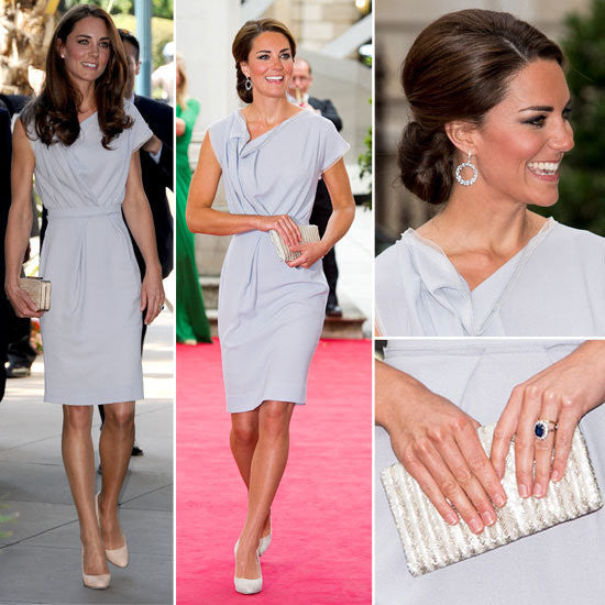 CAMBRIDGE - crepe dress Kate Middleton style pencil - heartmycloset