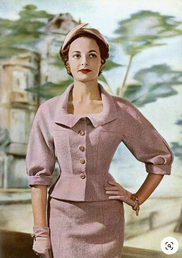Rosie - vintage 1950s suit with pencil skirt