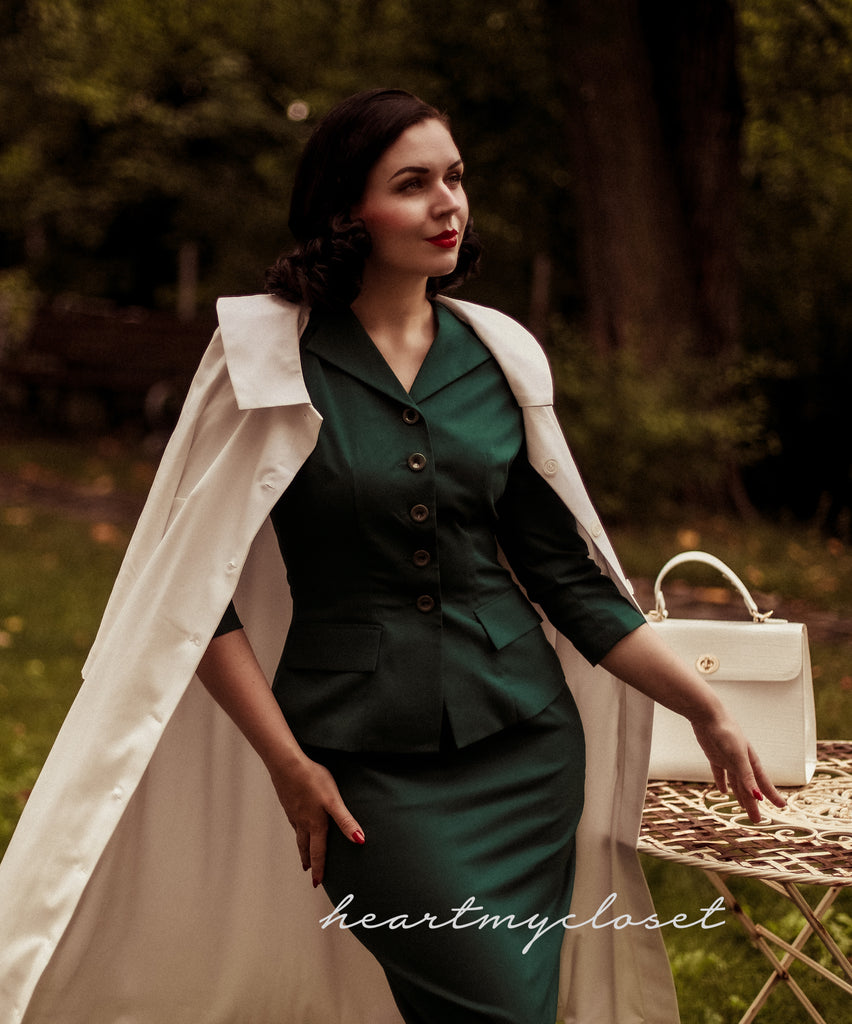 Monica coat- retro vintage coat