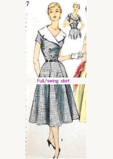 annie vintage 50s swing dress