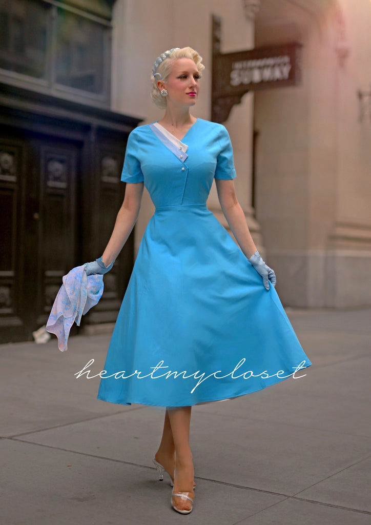Lily 1950s vintage - retro style dress