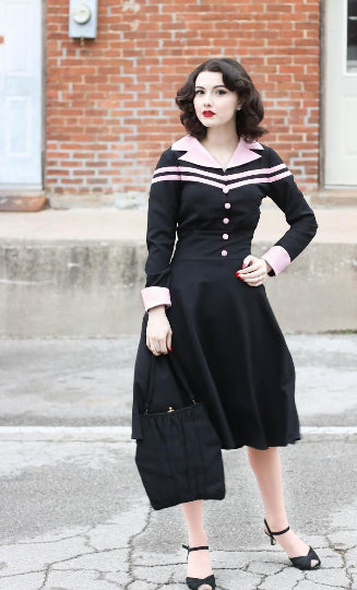 Agent carter - cosplay swing dress - heartmycloset