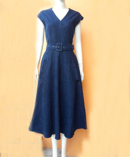 Denim dress - heartmycloset