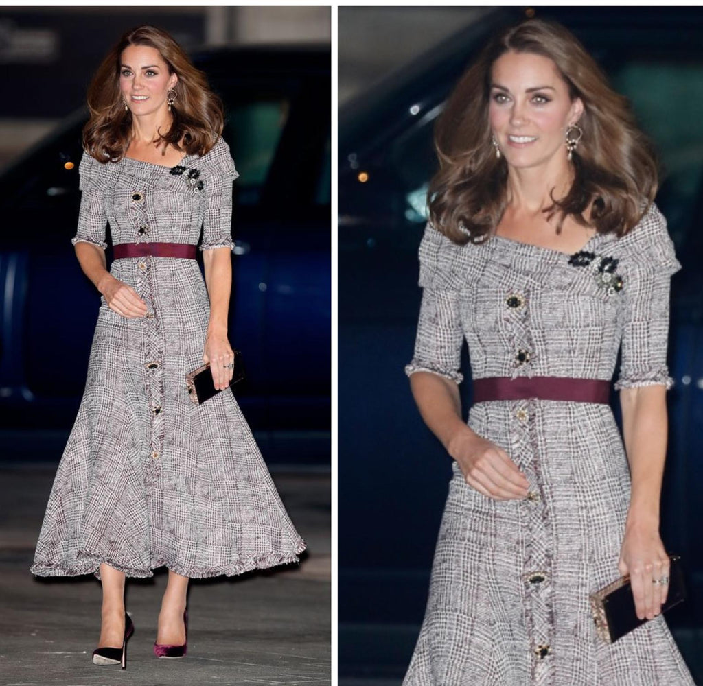 plaid Cambridge - Kate Middleton inspired dress