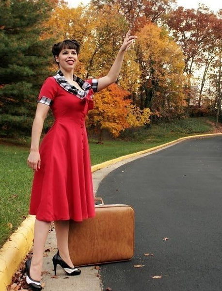 Milly - from movie star inspired swing dress