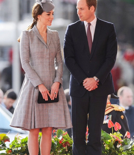 Swing dress - plaid dress Kate Middleton inspired - heartmycloset
