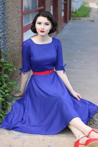 ARORA - vintage swing dress