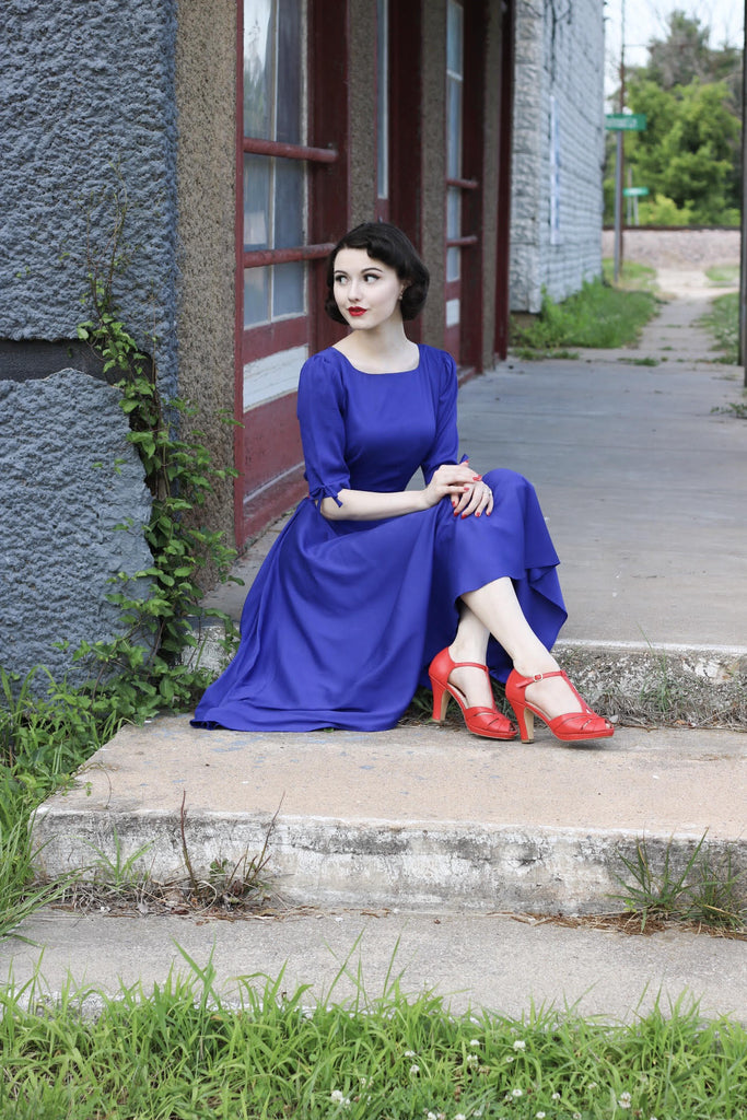 ARORA - vintage swing dress - heartmycloset
