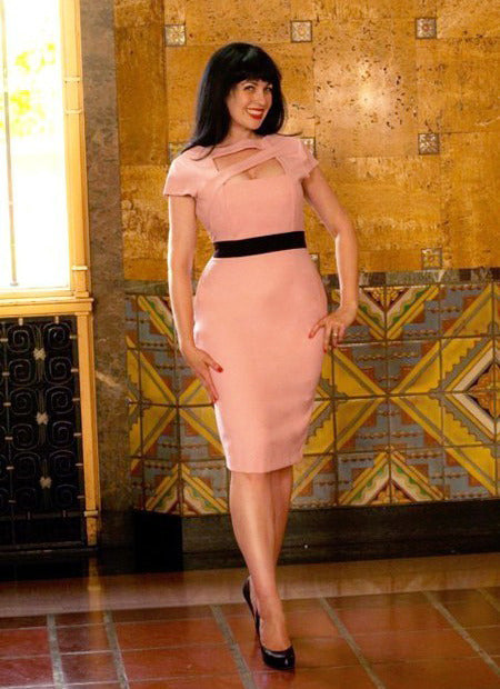 Lauren - Victoria Beckham inspired pencil dress - heartmycloset