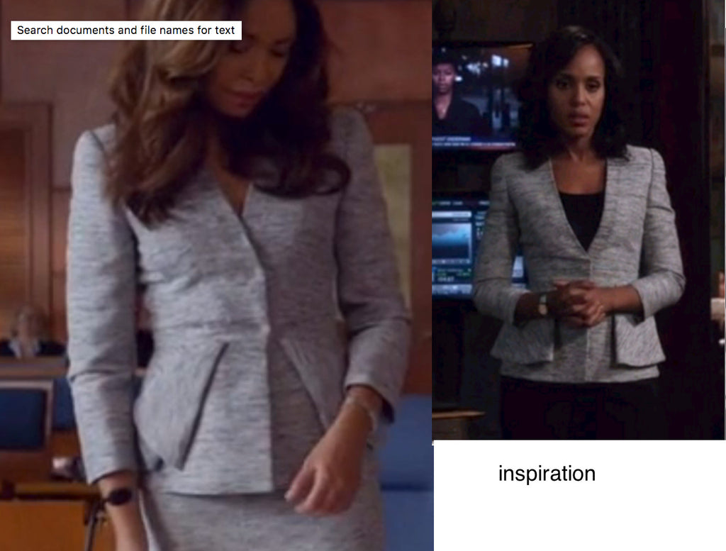 Arlene - suit inspired from TV show - heartmycloset