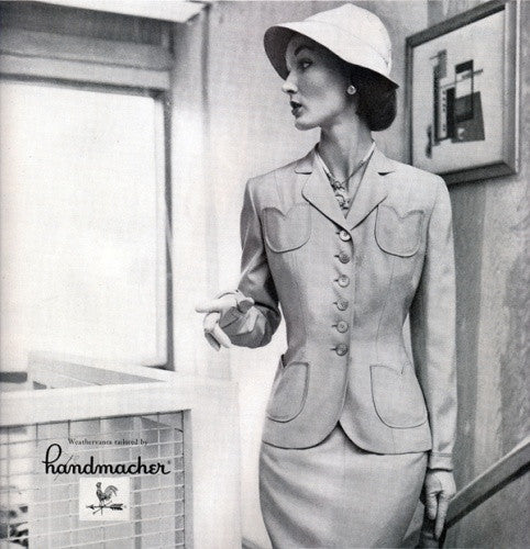Catalina-2 - 1950s vintage suit with pencil skirt - heartmycloset
