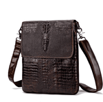 Vintage Crocodile Leather Shoulder Bags