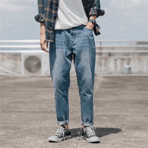 Stylish Washed  Jeans For Men