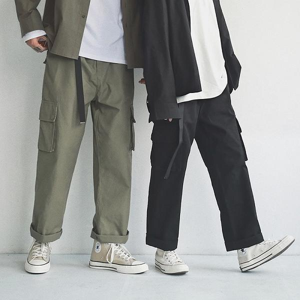 Original Design Straight Cargo Trousers