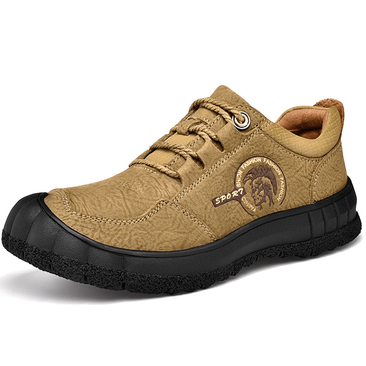Casual Leather Walking Outdoor Shoes