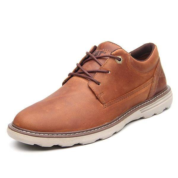 Men Genuine Leather Vintage Lace Up Casual Shoes