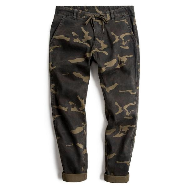 Casual Straight Camouflage Pants