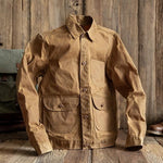 Men Retro Multi-pocket Cotton Jacket
