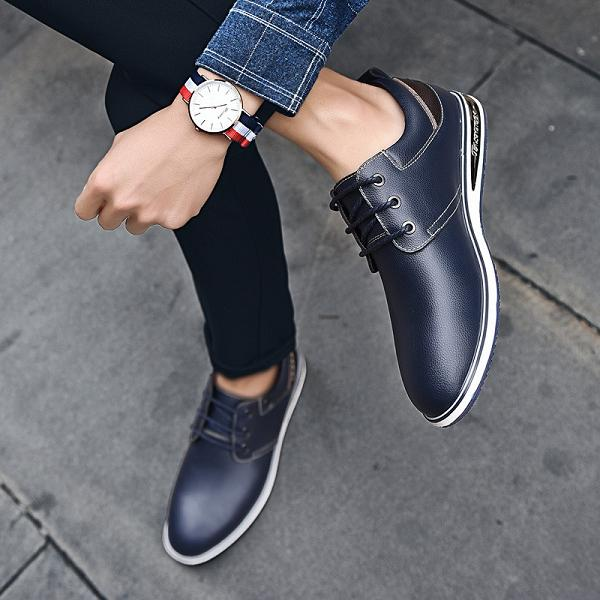 Men Genuine Leather Soft Casual Loafers