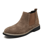 Scrub British Style Chelsea Boots