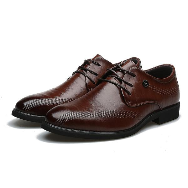 Men Casual Style Oxfords Business Formal Shoes
