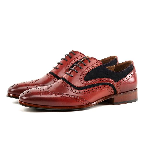 Men's Formal Business Carved Shoes