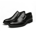 Cow Leather Slip On Formals Business Shoes