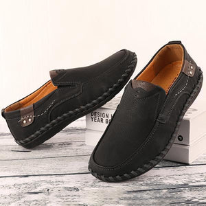 Men Handmade Quality Leather Comfortable  Casual Shoes