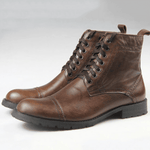 Outdoor Casual Fashion Leather Boots
