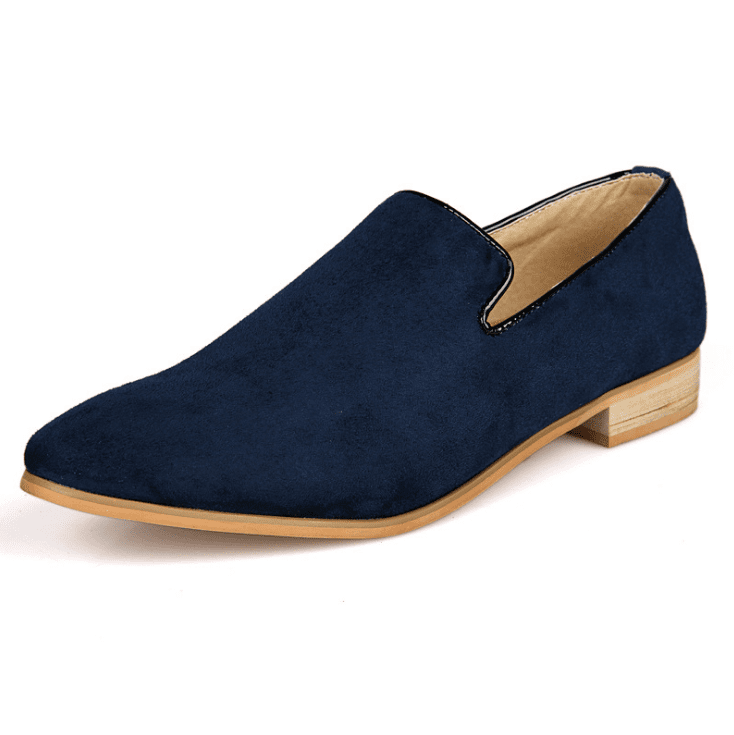 British Style Slip On Soft Suede Moccasins Boat Driving Flats Shoes