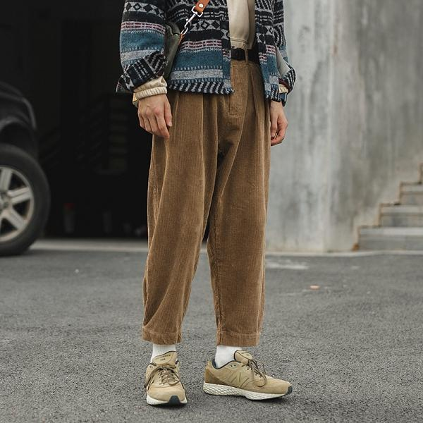 Corduroy Loose Casual Pants