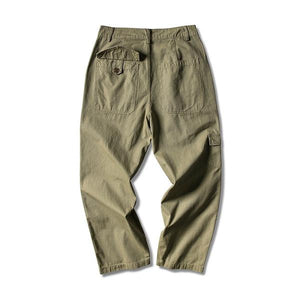 Multiple Pocket Casual Cargo Pants