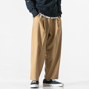 Straight Casual Ankle-length Pants