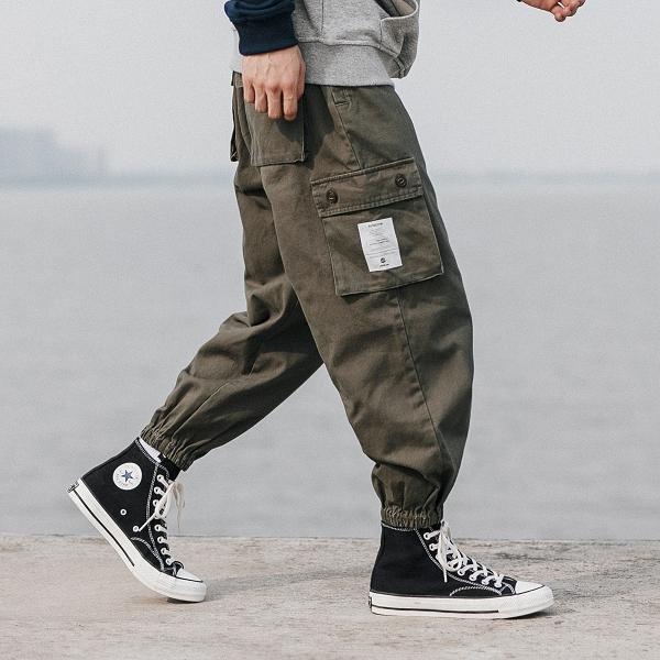 Original Design Multi-pocket Cargo Pants