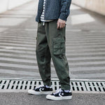 Multi-pocket Casual Loose Cargo Pants