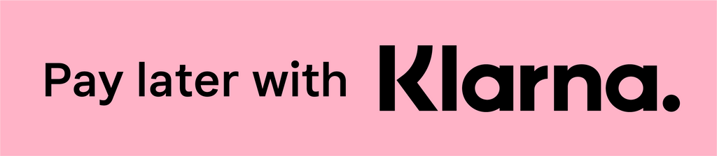 Buy now at Uptown Bibi and pay later with Klarna.