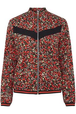 ROCHELLE ditsy floral print jacket