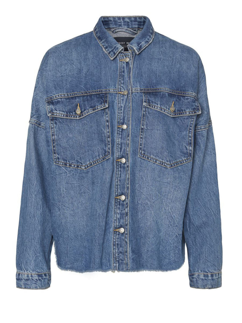 Noisy May denim shacket.
