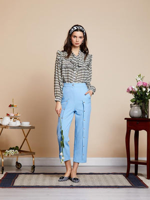 FAB GEM peg trousers - light blue